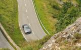 Jaguar XF on Spanish roads