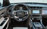 Jaguar XF dashboard