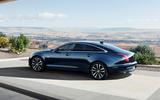Jaguar XJ50 2018 first drive review - static rear