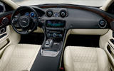 Jaguar XJ50 2018 first drive review - dashboard