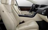 Jaguar XJ50 2018 first drive review - cabin
