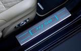 Jaguar XJ50 2018 first drive review - scuff plates