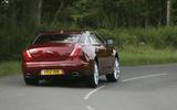 Jaguar XJ cornering - rear
