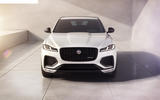 Jag F PACE 22MY 01 R Dynamic Black Exterior Front 110821