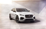Jag F PACE 22MY 02 R Dynamic Black Exterior Front 3 4 110821 LEAD
