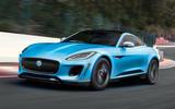 Jaguar F-Type EV render