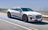 Jaguar XJ electric render