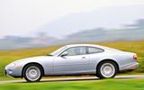 Jaguar XK8 side