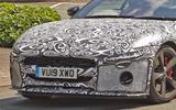 2020 Jaguar F-Type spy shot
