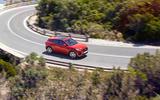 Jaguar E-Pace D240 cornering