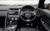 Jaguar E-Pace D180 dashboard