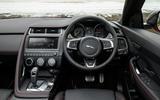 Jaguar E-Pace D180 dashboard