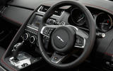 Jaguar E-Pace D180 steering wheel