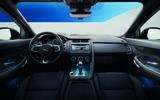 Jaguar E-Pace D240 dashboard