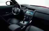 Jaguar E-Pace D240 interior