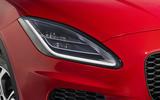 Jaguar E-Pace D240 LED headlights