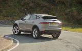 First ride: Jaguar E-Pace rear cornering