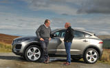First ride: Jaguar E-Pace talking shop