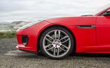 Jaguar F-Type Convertible 2.0 i4 alloy wheels