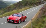 Jaguar F-Type Convertible 2.0 i4 cornering