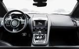 Jaguar F-Type Convertible 2.0 i4 dashboard