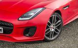 Jaguar F-Type Convertible 2.0 i4 LED headlights