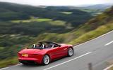 Jaguar F-Type Convertible 2.0 i4 rear cornering