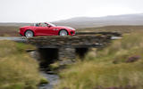Jaguar F-Type Convertible 2.0 i4 roof down