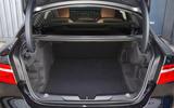 Jaguar XE 25d AWD boot space