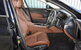 Jaguar XE 25d AWD interior