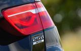 Jaguar XE 25d AWD rear lights