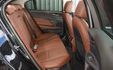 Jaguar XE 25d AWD rear seats