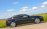 Jaguar XE 25d AWD side profile