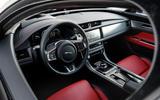 Jaguar XF Sportbrake 25t interior