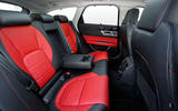 Jaguar XF Sportbrake 25t rear seats