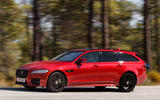 Jaguar XF Sportbrake 25t side profile