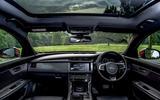 Jaguar XF Sportbrake panoramic sunroof