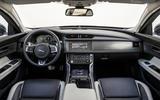 Jaguar XF Sportbrake TDV6 dashboard