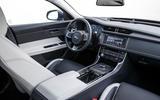 Jaguar XF Sportbrake TDV6 interior