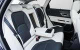 Jaguar XF Sportbrake TDV6 rear seats