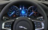 Jaguar XF S instrument cluster