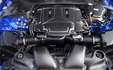 5.0-litre V8 supercharged Jaguar XJR 575 engine