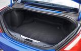 Jaguar XJR 575 boot space