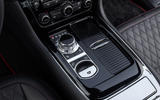 Jaguar XJR 575 centre console