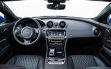 Jaguar XJR 575 dashboard