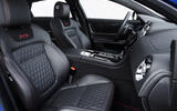 Jaguar XJR 575 front seats