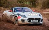 Jaguar F-Type rally car 2019 driven - Dan Prosser slide