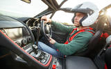 Jaguar F-Type rally car 2019 driven - Dan Prosser driving