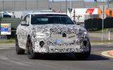 Jaguar F-Pace SVR facelift spyshot - front