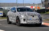 Jaguar F-Pace SVR facelift spyshot - front 3/4